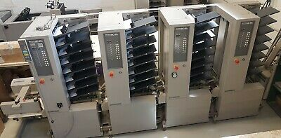 Horizon Mc-80 St-20 32-bin Air-feed Collating System - Duplo Bourg Vac-100