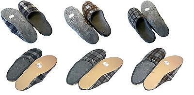 Hausschuhe Filzpantoffeln Poro Filz Sohle Pantoffeln Damen/Herren Größe 36 - 48