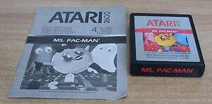 MS. PAC-MAN - Atari 2600 - Usato - Italia - MS. PAC-MAN - Atari 2600 - Usato - Italia