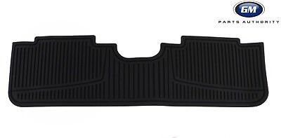 2010-2016 Cadillac SRX Premium All Weather Rear Floor Mat 19172260 Black OEM GM