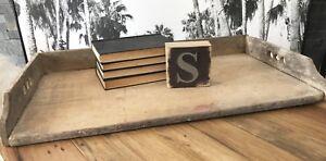 Antique Vintage Noodle Board Primitive Bake Board Tray Rustic