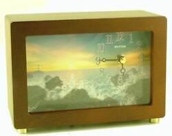 Guiding Light - Rhythm Musical Mantle Clock