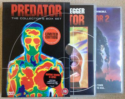 DVD - Predator box set (1987) Predator-box-set Dvd