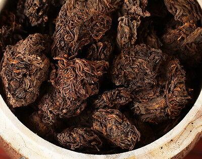 Supreme Aged Golden Bud Lao Cha Tou Pu-erh Loose Tea 90s Ripe Aged Pu Erh Tea