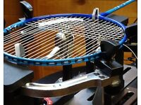 Next Day & UK-Wide Postal Racquet / Racket Re-Stringing - Slough - Badminton, Tennis & Squash