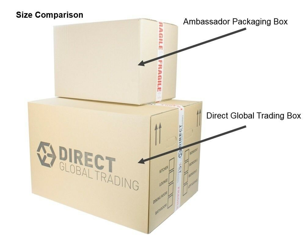 e55803a7f89 10 Strong Extra Large Cardboard Storage Packing Moving House Boxes Double  Walled