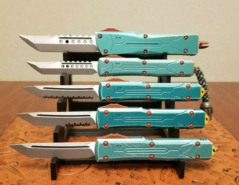 5 Knife Display Stand For Microtech And Others