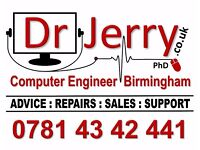 Dr Jerry - Computer Engineer Birmingham - Onsite Computer & Laptop Repairs
