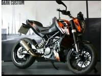 KTM Duke 125cc 2012 scorpion exhaust low miles