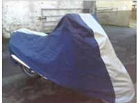Large Motorbike Cover - Breathable & Waterproof - Tenby