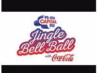 2 Jingle bell ball tickets