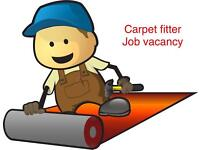 Carpet fitter required