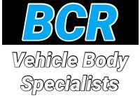 Vehicle Body Shop dent scratch accident crash repair car van motorbike scooter truck body repairs