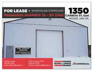 1350 Caribou St E, Moose Jaw - 2 Large Bays Available for Lease!