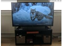 LG 49inch 4K Ultra HD LED TV & FREETV Table - 300£ or BEST OFFER