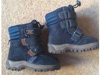 Next Navy Boys Boots - Infant Size 5