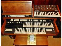 Vintage HAMMOND T202/1 Organ with Auto Rhythm & Jen SX1000 Synthesizer