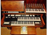 Vintage HAMMOND T202/1 Organ with Auto Rhythm & Jen SX1000 Synthesizer