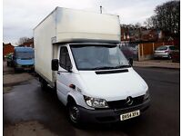 Mercedes Luton Van with Tail lift (good condition)