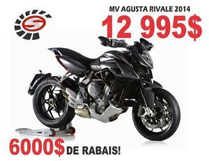 2014 mv agusta Rivale 800 ABS -