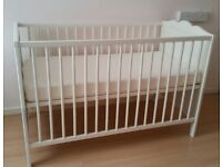 Brand new cot & mattress for sale