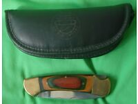 FRANKLIN MINT COLLECTABLE KNIFE & CASE