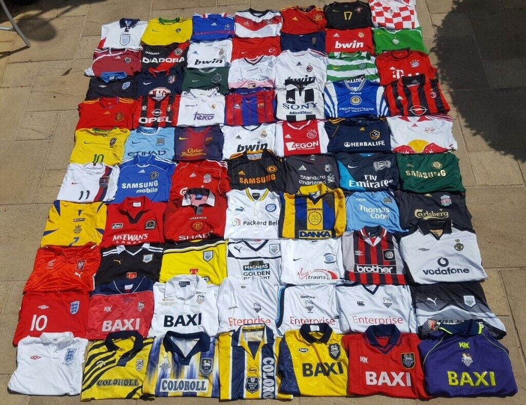 LOOKING FOR UNWANTED FOOTBALL/SPORTS SHIRTS