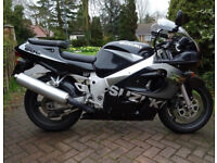SUZUKI GSXR 600. Excellent condition. Only 2 previous owners. 20k miles.
