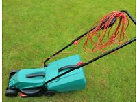 Bosch Rotak 32-12, 12in Rotary Corded Lawnmower - only used twice.