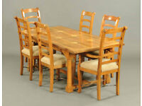 Barker & Stonehouse Dining table & 6 x Chairs