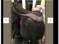 "16"" ex thorowgood saddle poyclub"