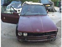 bmw e30 convertible spares or repair