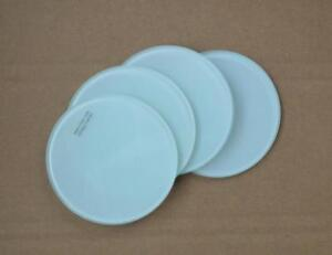 24pcs 4*4inch Round Sublimation Glass Coaster Coffee Cup Mat Heating Press Transfer Crafts-001492