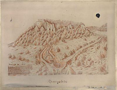Ruine Rosenstein Heubach Staufer Böbingen Oberböbingen Salvasohn Emil Heim