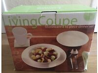 Living Coupe Stoneware 16 Piece Dinner Set - RRP £35