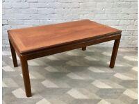 Vintage G Plan Coffee Table Teak Wood #789