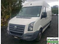 09 VW CRAFTER TDI ***BREAKING PARTS AVAILABLE ONLY VAN