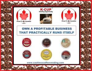 >>>>>>>>>>>>>>>>>>>>  Local  K-Cup Vending Business Opportunity <<<<<<<<<<<<<<<<<<<