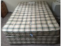 Double Bed, mattress included. £20