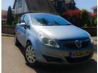 2008 Vauxhall Corsa 1.2 Club in Blue 5 Door