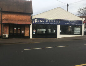 Previously Car Showroom - Available now Office, Car Park and Showroom on High Street