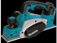 Makita DKP180Z 18V LXT 82mm Cordless Planer - Tool only Brand new no box