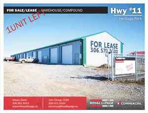 Hwy #11 Heritage Park - Warehouse Space - LAST UNIT AVAILABLE!
