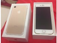 Apple iPhone 7 256GB Gold Unlocked Smartphone Boxed With Apple Care Warranty
