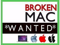 ....WANTED....BROKEN, FAULTY, Apple Macbook Pro, Macbook Air, cash today