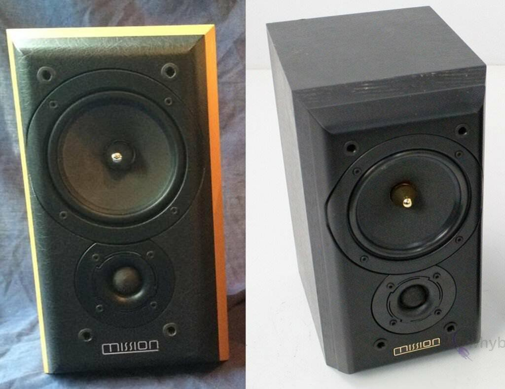 MISSION 771 speakers (Split Pair) + Brackets
