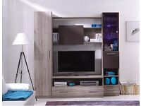 tv table, shelfe, wardrobe, living room furniture with LED,