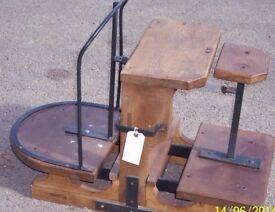 SACK-POTATO-SCALES-RESTORED INCLUDING 56lb WEIGHT.