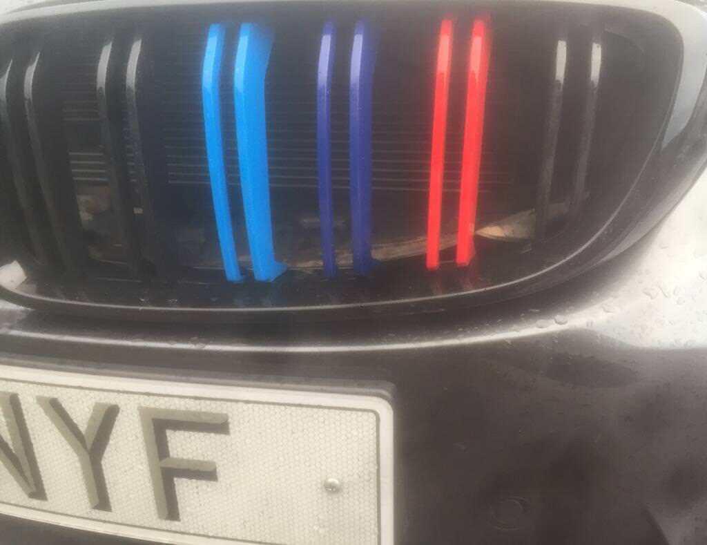 BMW F30 F31 F32 F36 Gloss black Kidney Grills