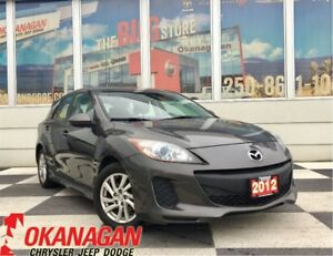 2012 Mazda MAZDA3 GS-SKY MANUAL | Accident-Free | Heated Seats